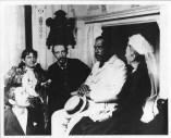 Kalakaua, King of Hawaii, 1836-1891 with Robert Louis Stevenson and his family-(HSA)-PP-96-14-010-1889