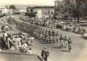 Kamehameha Day Parade in Hilo, 1934. NPS Photo-Hawai'i Volcanoes National Park archives