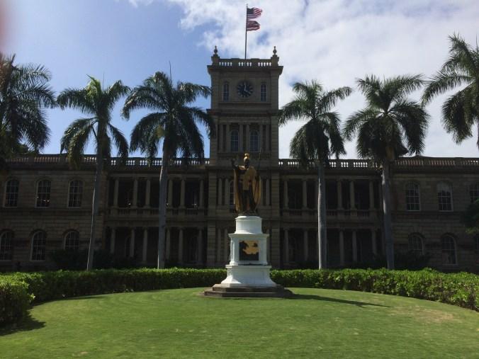 Kamehameha Statue-Honolulu