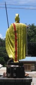 Kamehameha Statue-Kapaau-back