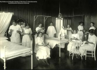 Kamehameha_School_for_Girls nursing class-KSBE