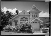 Kanaana Hou Calvinist Church, Moloka'i Island, Kalaupapa, Kalawao County-LOC