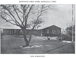 Kapiolani Girls Home-new_dormitory-1907