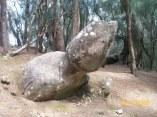 Kauleonanahoa or Phallic Rock at Pala'au State Park; Molokai
