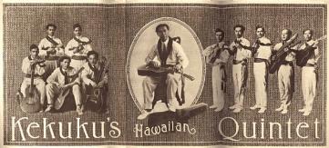 Kekuku's Hawaiian Quintet