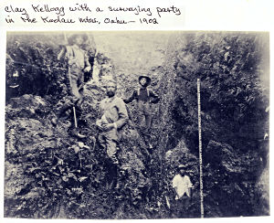 Kellogg-surveying-party