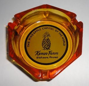 Kemoo Farm ashtray