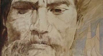 King Kaumuali'i, the last king of Kauai, from a portrait by Laka Morton (Kauai Museum)
