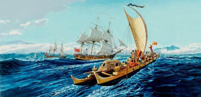 King_Kahekili_Approaching_Discovery_off_Maui-(HerbKane)