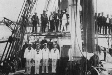 King_Malietoa_Laupepa_aboard_Kaimiloa,_1887