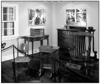 Koa furniture crafted by Hilo Boarding School-(HawaiiMuseums)