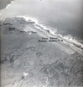 Kona Airport, Kailua, Hawaii-(hawaii-gov)-April 22, 1955