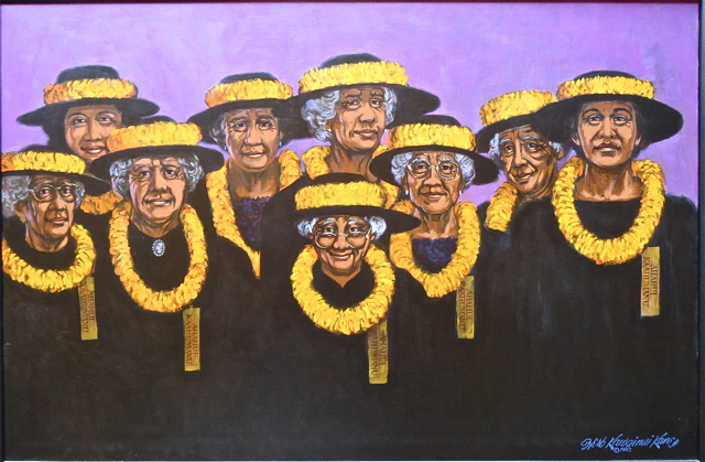 Ladies of the Ahahui Kaahumanu-HerbKane
