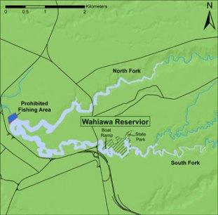 Lake Wilson-Map-(DLNR)