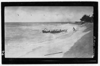 Landing at Washington Island, from the Whippoorwill Expedition-PP-46-2-001