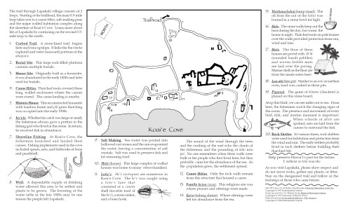 Lapakahi State Park-Brochure-noting_sites_and_uses