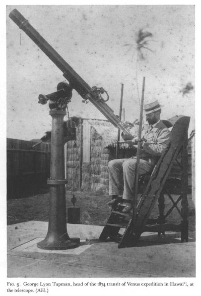 Leader_of_Transit_of_Venus-Honolulu-at_telescope-1874
