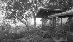 Liljestrand House with views of Honolulu-Ossipoff