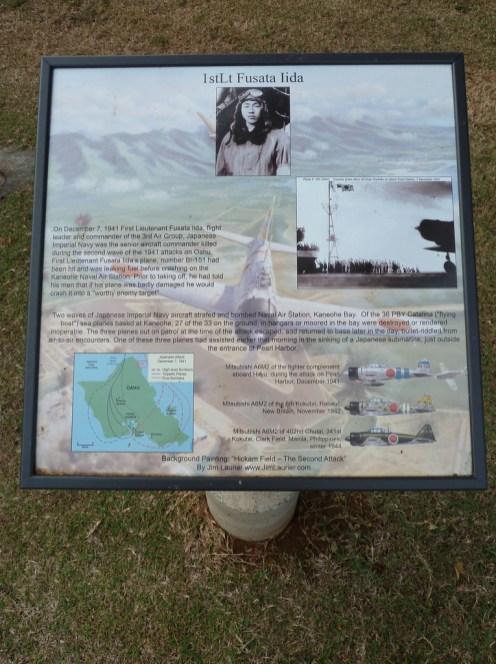 Lt Fusata Iida-plaque