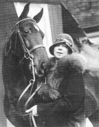 Lurline Matson Roth, who competed nationally and won many awards for her equestrian skills