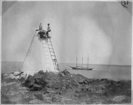 Mahukona light house - 1904