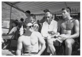 Fred Hemmings, Chinn Ho, Duke Kahanamoku and Butch Van Artsdalen