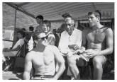 Fred Hemmings, Chinn Ho, Duke Kahanamoku and Butch Van Artsdalen