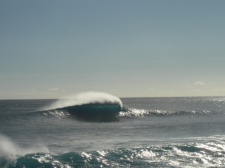 Makaha Point Surf Photo by Barry Power