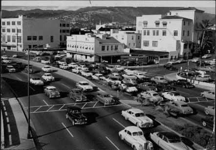 Makai Arterial (later Nimitz) at Bethel PP-39-7-045-1955