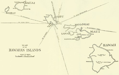 Map of Hawaiian Islands-Drpt Foreign Affairs-1896