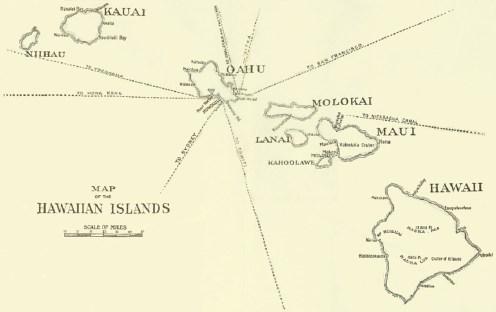 Map of Hawaiian Islands-Drpt Foreign Affairs-1896