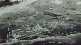 Marine Corps Air Station Ewa (right) and Naval Air Station Barbers Point, left