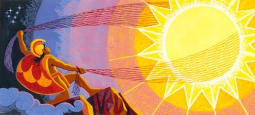 Maui_Snaring_the_Sun-(HerbKane)