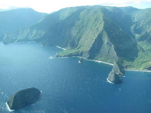 Mokalu, Huelo Okala Islets Waikolu Valley North Shore, Molokai-Forest & Kim Starr