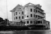 Mrs. Castle, widow of businessman James B. Castle, sold their Waikiki home to the Elks after he died in 1918.
