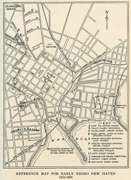 New Haven-Negro_Section-map