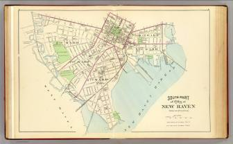 New Haven-South Part-map
