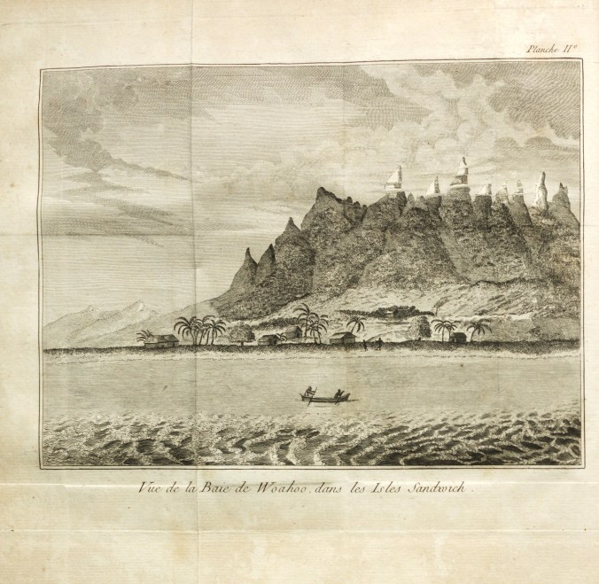 Oahu-from Dixon's book A Voyage Round the World