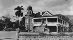 Odd Fellows-corner of Alapai and Lunalilo Streets circa 1924