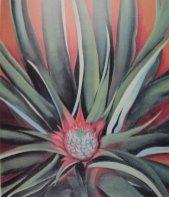 O'keeffe_-_'Pineapple_Bud',_1939