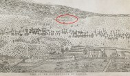 P-03-View of Country back of Kailua-portion-noting possible representation of Kuahewa