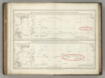 Pacific_Chart_of_the_Spanish_Galleon-(Rumsey)-islands_noted