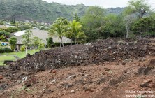 Pahua heiau in Hawaii Kai, Honolulu, Oahu