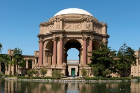 Palace of Fine Arts - originally constructed for the 1915 Panama-Pacific Exposition