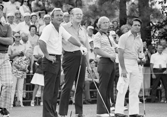 Palmer, Gerald Ford, Nicklaus, Player