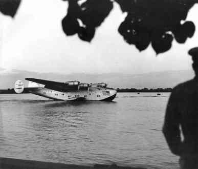 Pan American -California Clipper' Honolulu-PP-1-5-001-1939
