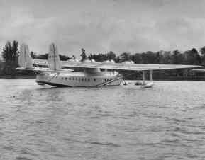 Pan American Clipper in Middle Loch, Pearl Harbor-PP-1-8-015-1935