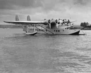 Pan American Clipper in Pearl Harbor-PP-1-8-016-1935