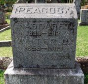 Peacock-headstone