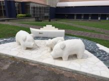 Pigs from the Sea-Memorial
